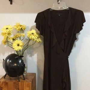 Tiana B Wrap Dress